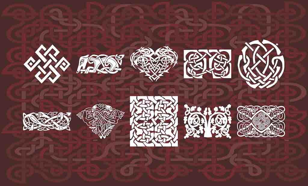Pacote de Ornamentos para plano de fundo 95