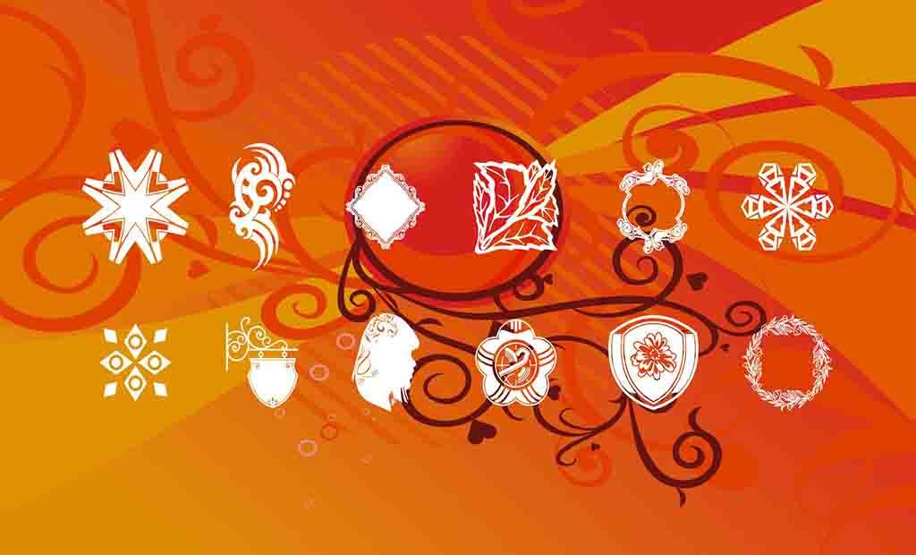 Ribbons Texturas e Backgrounds Ornamentais