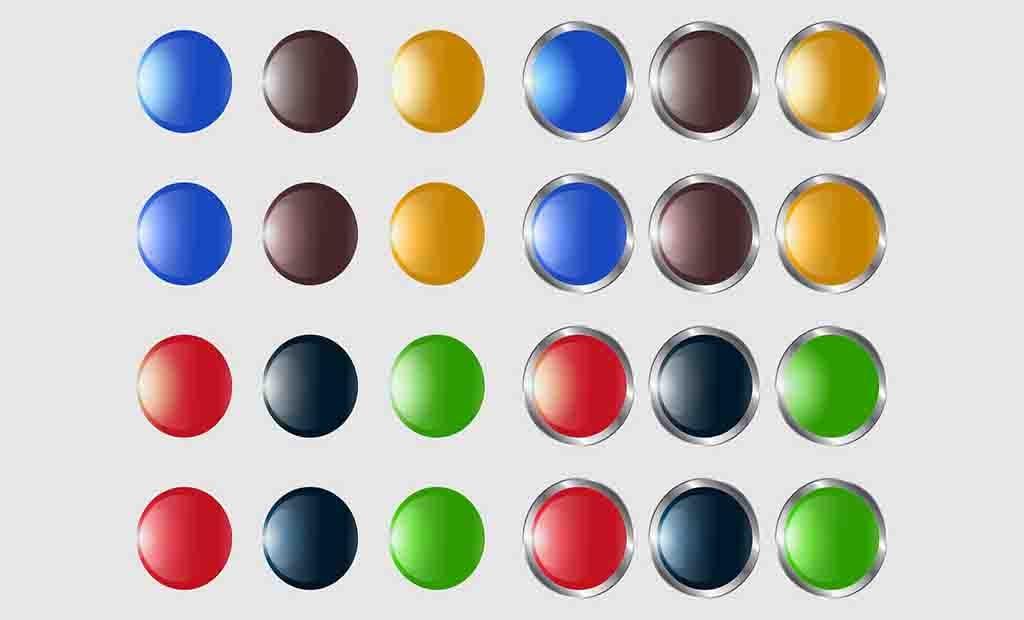 Botões Circular